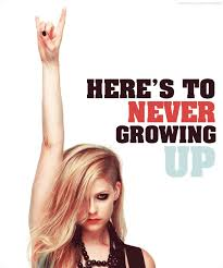 here s to never growing up