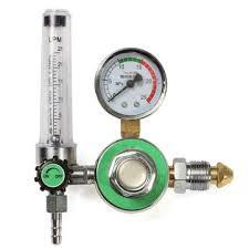 welding gas flow meter. argon co2 gas mig tig flow meter welding weld regulator gauge welder gga580 fits