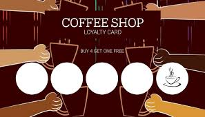 Maybe you would like to learn more about one of these? Cafe Coffee Shop Loyalty Card Template Postermywall