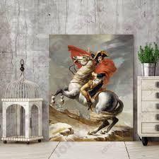 Us 1062 17 Offnapoleon Einem Pferd Porträt Klassische Wandbild Leinwand Malerei Für Esszimmer Büro Wand Decor Porträt Kunstwerk Dropship