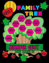 Family Tree Design In Illustration Board Create A Family Tree Poster Family Tree Poster Ideas