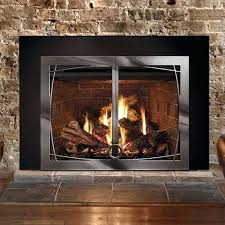 full size of fireplace insert doors open or closed for replacement gas with willow natural