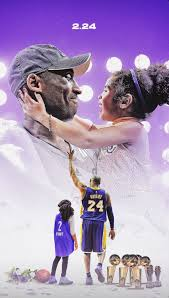 Kobe and Gigi Bryant wallpaper
