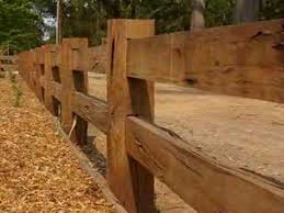 Wood Rail Fence Post u0026 Rail Fencing Wood Fence Nongzico