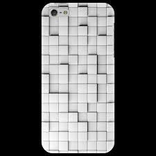 Чехол для iPhone 5 Выпуклые квадратики #168049– купить чехол ...