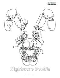 Coloring Pages Of Nightmare Foxy Nightmare Coloring Page Nightmare