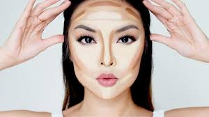 contour makeup and highlighter makeup are all the rage adding a darker touch under the cheekbones around the temples and under the jawline can do wonders
