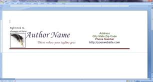 How To Create Letterhead Template In Word 2007