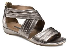 Ecco Bouillon Sandal Light Gold Ecco Product 351523 Available In Black And Light Gold
