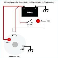 1 wire alternator wiring diagram seyofi info 1 wire alternator wiring diagram