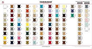 Tarrago Dye Color Chart General Color Chart Tarrago
