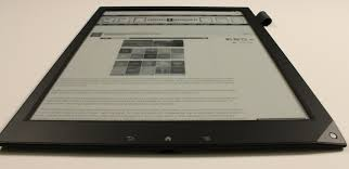 sony digital paper. digital paper. sony is getting out of the consumer e-reader sector and focusing their efforts on devices aimed at businesses. first commercially viable paper s