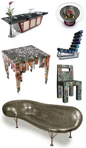 table recycled materials. Furnituremontage Table Recycled Materials L