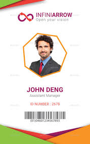 Id Card Template Multipurpose Business ID Card Template by dotnpix GraphicRiver 1