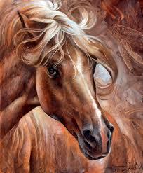 horse head painting horse head 3 by arthur braginsky