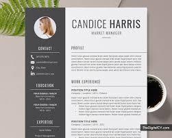 Modern Creative Resume Template Template Download Creative Cv Template Word Creative