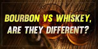 Image result for bourbon vs whiskey