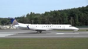 Er4 Embraer Erj 145 Seating Chart Commercial Aviation United Express Embraer Erj 145 Er4 Takeoff