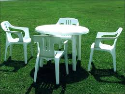 round plastic tables and chairs incredible plastic outdoor table plastic patio furniture arena plastic table and