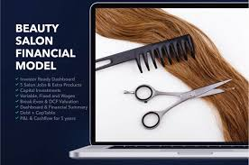 Sample P And L In Excel Hair And Beauty Salon Financial Plan Sample Excel How To