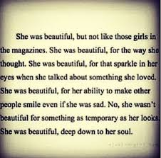 Beauty Is More Than Skin Deep Quotes Best of Beauty Is More Than Skin Deep Quotes Inspirational Posts
