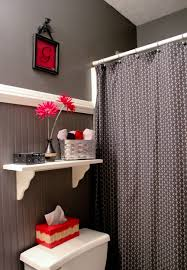 black and red bathroom ideas
