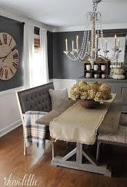 grey wall dining room ideas