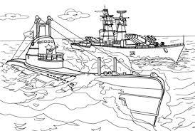 Oorlogsschip Kleurplaat Gratis Kleurplaten Printen