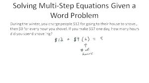 math problem solver pre algebra algebra one worksheets multi step math problems quiz worksheet ing equations