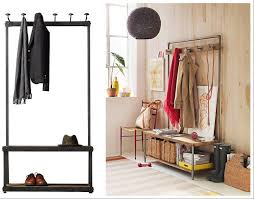 Hall Tree Coat Rack With Bench Entryway Storage Bench With Coat Rack Regarding And Decorating Metal 74
