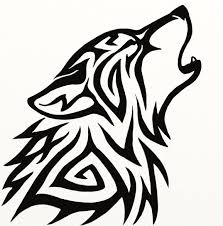 tribal wolf howling silhouette. Tribal Wolf Avatar By Hareguizerdeviantartcom Tattoos Piercings Pinterest And To Howling Silhouette