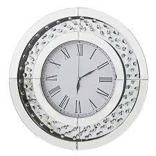 richtop wall clock modern mirror design