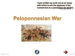 ppt the peloponnesian war bc powerpoint presentation  peloponnesian war