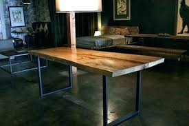 full size of reclaimed wood dining table with metal legs uk and canada vintage industrial kitchen
