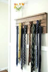 wall tie rack wall mounted tie organizer tips terrific tie rack for closet organizer storage ideas