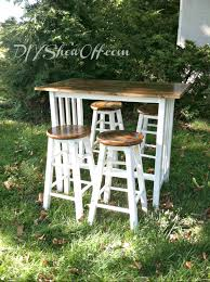 Diy Breakfast Bar Kitchen Island Kitchen Bar Makeover With Wood Plank Topdiy Show
