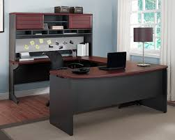 large l shaped office desk. Pursuit U-Shaped Desk Magnifier Large L Shaped Office
