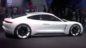 Porsche Mission E Hp All Electric Sports Car Of