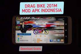 game drag bike 201m indonesia mod apk