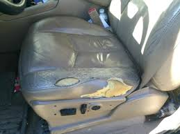 how to fix hole in leather seat medium size of how to fix decorative stitching on