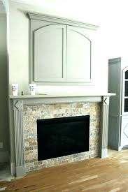 trim around fireplace clean white custom milled for adorable replacing tile insert ideas