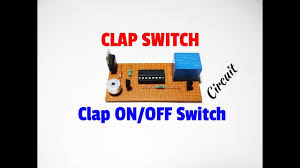 Clap Control Light Switch How To Make Clap Switch Circuit Simple Clap On Off Switch Using 4017 Ic Control Light Fan By Clap