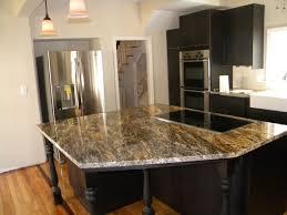 beautiful dark kitchen cabinets with granite countertops white granite countertops with dark cabinets