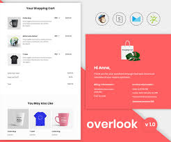 Overlook V1.0 - Responsive Purchase Confirmation Email Template ...