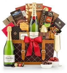 for the love of chagne chagne gift baskets select moet chandon imperial bursting with radiant notes of peach honey lime blossom and brioche
