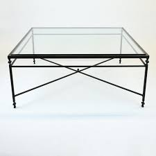 coffee table large square glass coffee