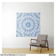 <b>Bohemia Mandala Floral Wall</b> Hanging Tapestry mandala wall decal ...