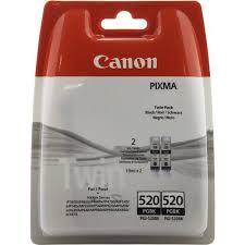 Комплект оригинальных <b>картриджей Canon PGI</b>-<b>520BK</b> (с ...