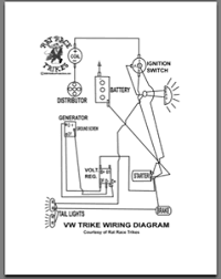 trike building manual and dvd by rat race trikes vw motorola voltage regulator the manual includes step by step instructions, schematics, diagrams, plans, photos, etc and dvd provides tons of demonstration and explanation of the build