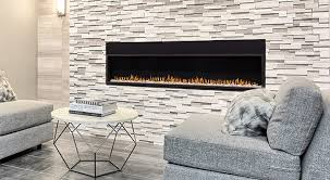 installing a striking tile design around your fireplace is a great way to establish it as a focal point in your living room available in stone marble